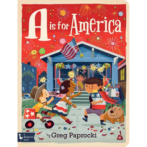A is for America Board Book