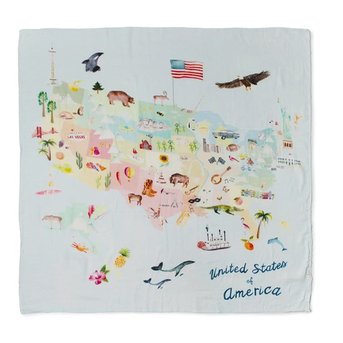 Luxe Muslin Swaddle, USA