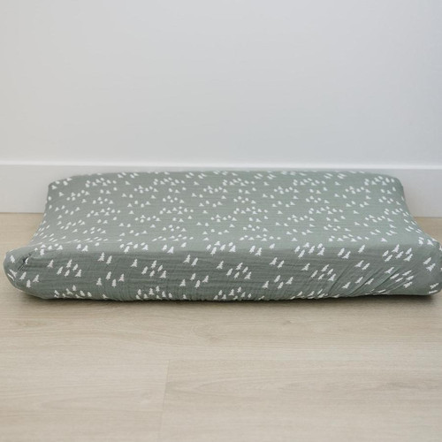 Muslin Changing Pad Cover, Pines