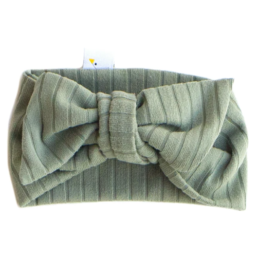 Knotted Headband / Luxe Sage