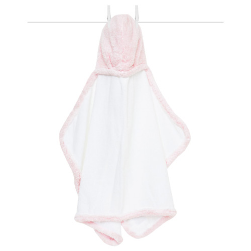 Chenille Baby Towel, Pink