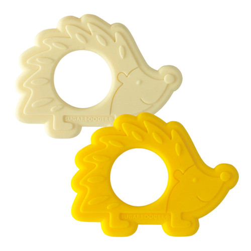 Silicone Teether Set, Hedgehogs