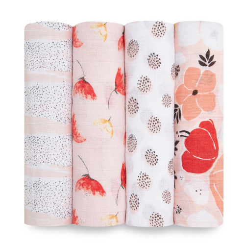 Muslin Swaddle 4-Pack, Picked for You