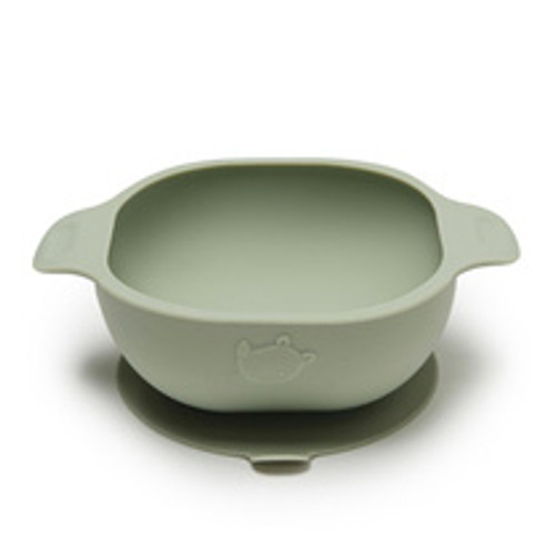 Silicone Snack Bowl, Sage