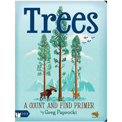 Trees, A Count and Find Primer Board Book