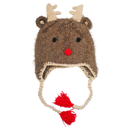 Knit Hat, Rudolph