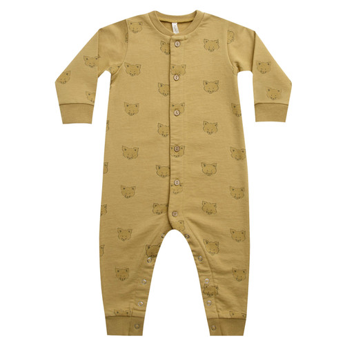 Rylee & Cru Button Down Jumpsuit, Coyote