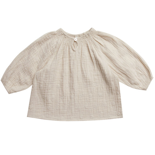 Rylee & Cru Quincy Blouse, Embroidered Daisy