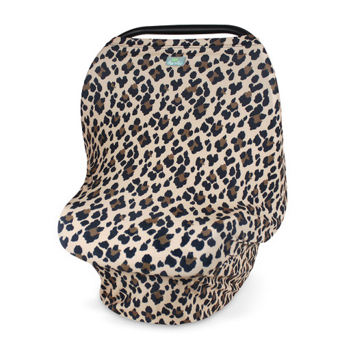 Mom Boss™ 4-IN-1 Multi-Use Nursing Cover and Scarf, Leopard