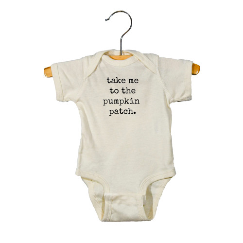 Graphic Bodysuit, Take Me To The Pumpkin Patch