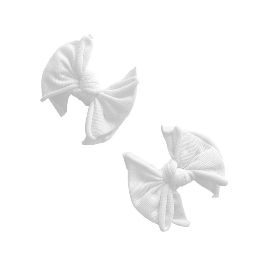 2-Pack Baby FAB Clips, White