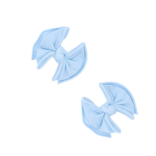 2-Pack Baby FAB Clips, Dusty Blue