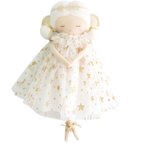 Willow Fairy Doll, Ivory Gold Star