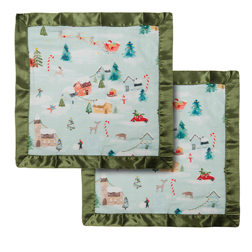 Security Blanket 2-pack, Merry & Bright