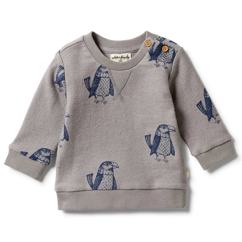 French Terry Sweatshirt, Mighty Eagle
