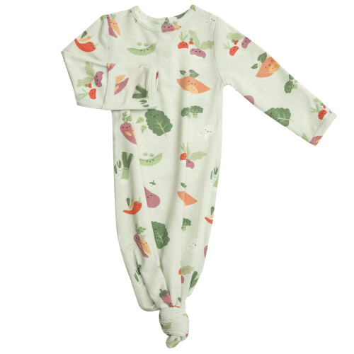 Knotted Gown,  Veggie Family