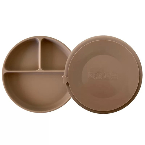 Suction Plate, Warm Stone