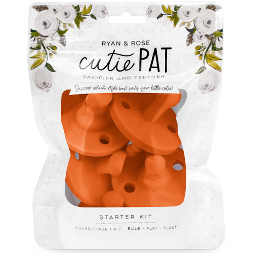 Limited Edition Cutie PAT Pacifier Kit, Sienna