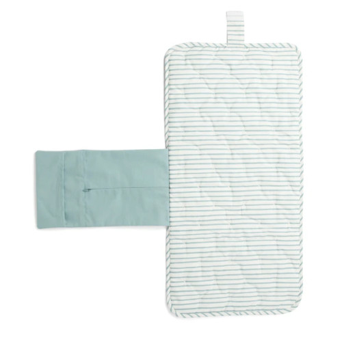 On The Go Portable Changing Pad, Deep Sea Stripe