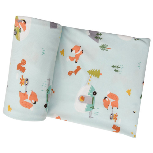 Stretch Swaddle, Camping Fox