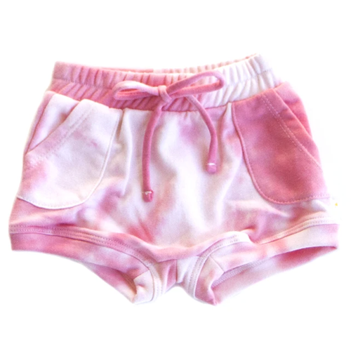 French Terry Sweat Short, Pink Sugar