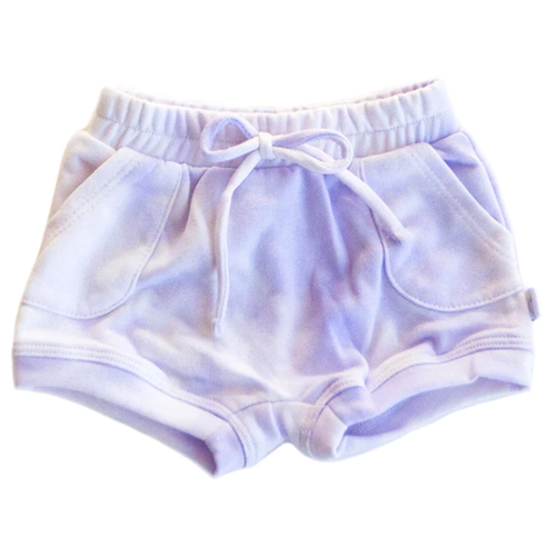 French Terry Sweat Short, Oh La Lavender