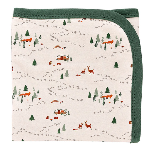 Organic Cotton Blanket, Into The Woods