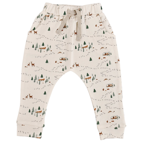 Organic Cotton Lounge Pants, Into The Woods