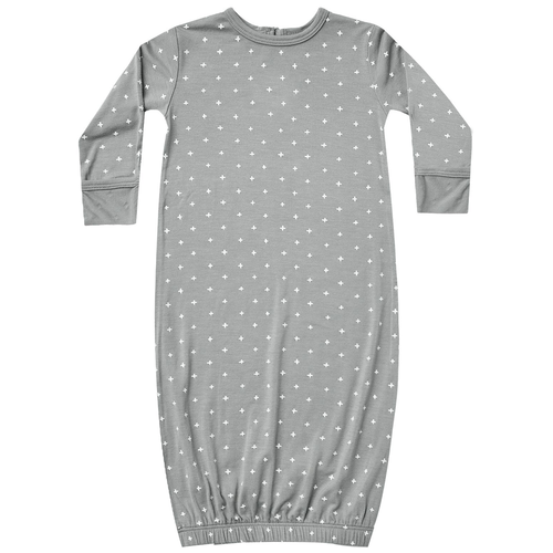 Bamboo Baby Gown, Criss Cross