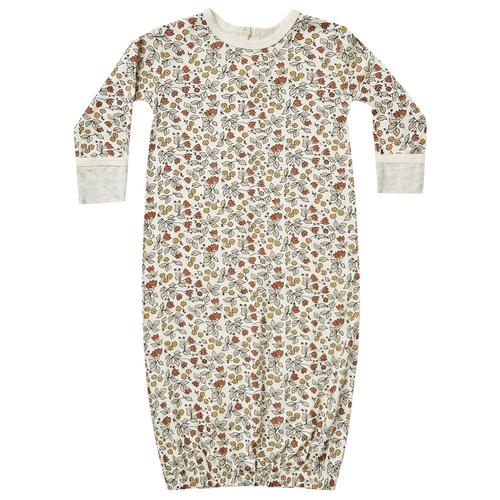 Bamboo Baby Gown, Fleur