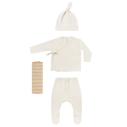 Organic Welcome Home Baby Set, Ivory