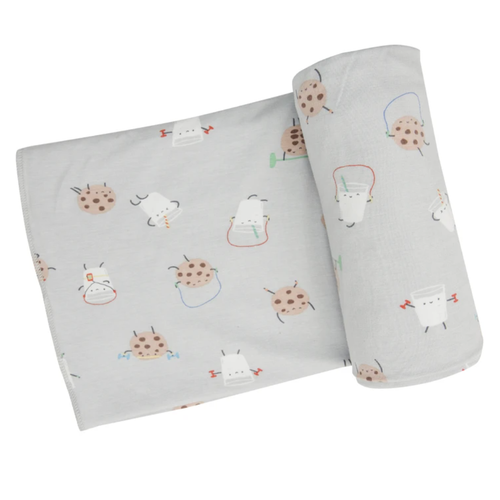 Stretch Swaddle, Cookies & Milk