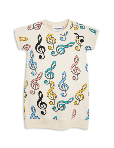 Mini Rodini Clef Sweat Dress