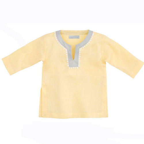 Linen Tunic, Yellow