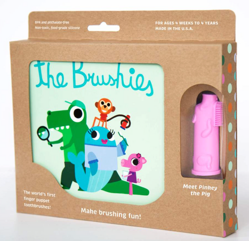 The Brushies Book with Pinkey Brushie