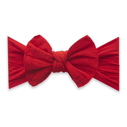 Knot Bow, Cherry Red