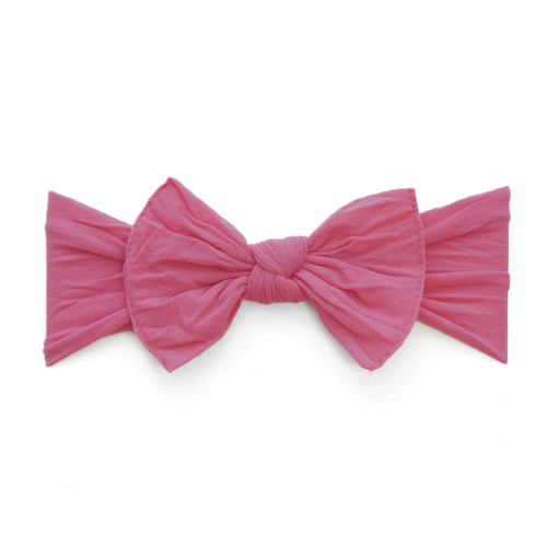 Knot Bow, Hot Pink