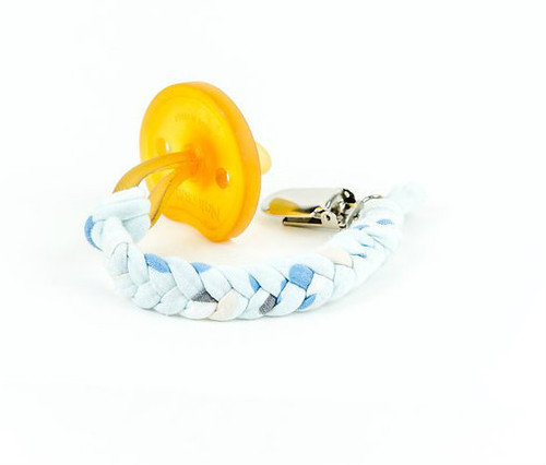 Softy Pacifier Clip, Neverland