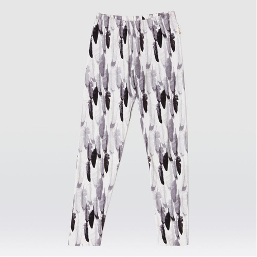 Feather Drum Feather Bomb Leggings