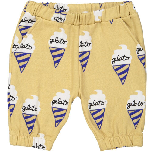 Cream Gelato Knee Shorts