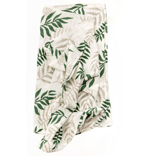 Jungle Fern Muslin Swaddle