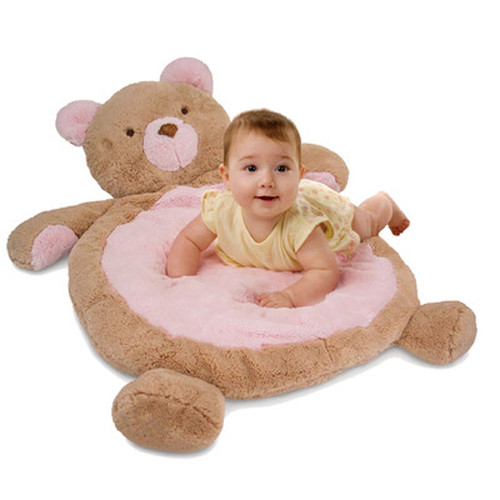 Play Mat, Pink Bear