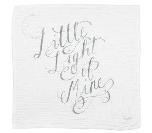 """Little Light"" Organic 4-Layer Luxury Blanket"