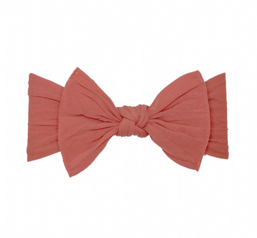 Knot Bow, Salmon