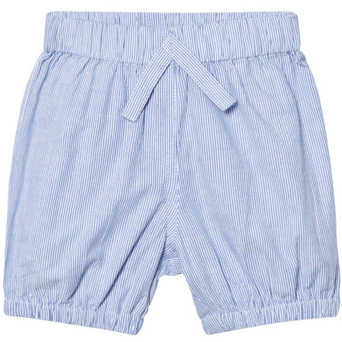 Puffer Baby Shorts, Sky Stripe