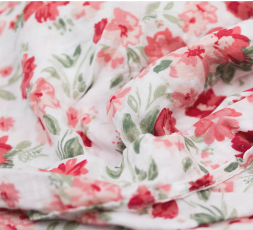 Bamboo Swaddle, Spiced Blossom