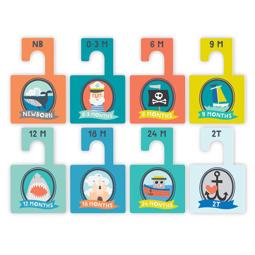 Closet Divider Set, Little Captain