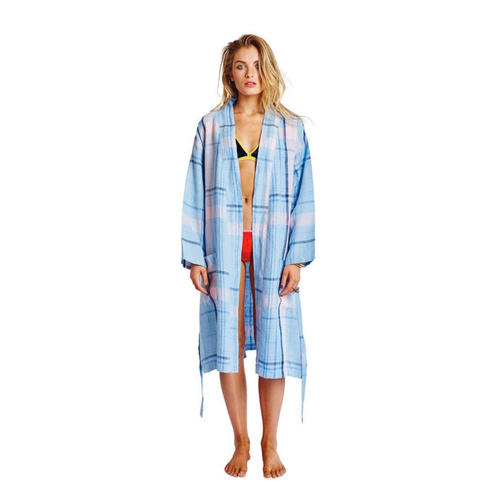Tarts Sky Linen Bathrobe