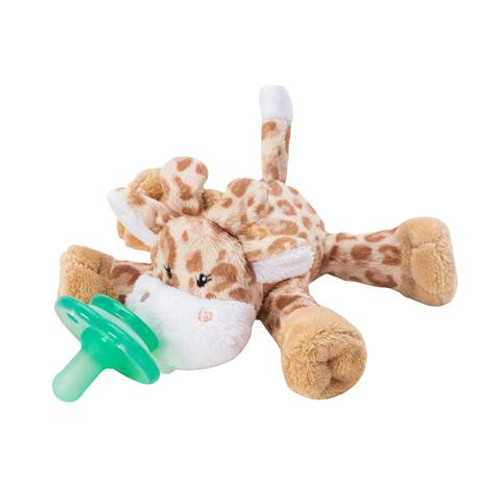 Paci Plush Buddy, Brown Giraffe