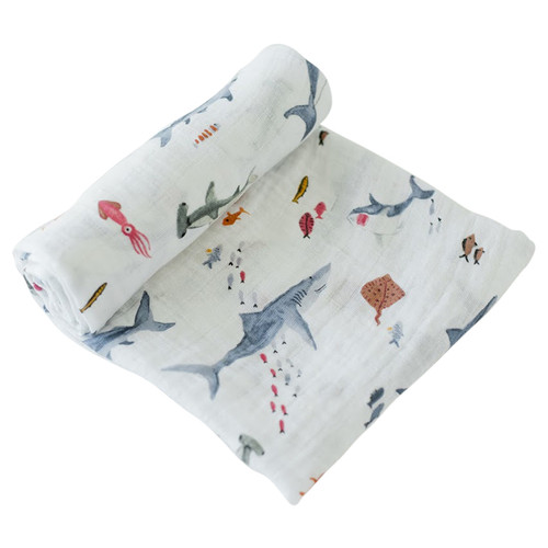 Muslin Swaddle, Sharks
